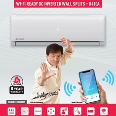 New Wi-Fi Ready CHIGO Wall Splits now available.