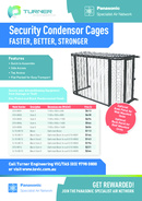 Condenser Cages Flyer