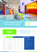 Security Cages Flyer