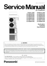 CS/CU-RZ25-80TKR Service Manual