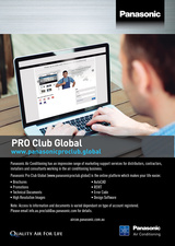 Panasonic Pro Club Website Launched!