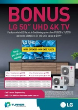 LG - Ducted Split Promotion - Now Extended!