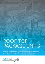 New PACAIR Roof Top Packaged Units