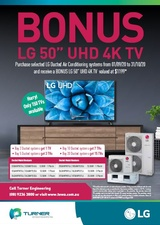 LG - Ducted Split Promotion