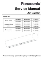 Air Curtains FY -3009U to FY4015U