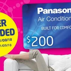 Panasonic Winter Wall Split Promotion 2018.