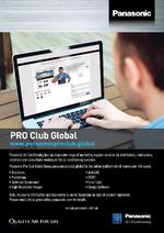 Panasonic Pro Club Flyer