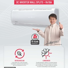 CHIGO Wall Splits Now Available.